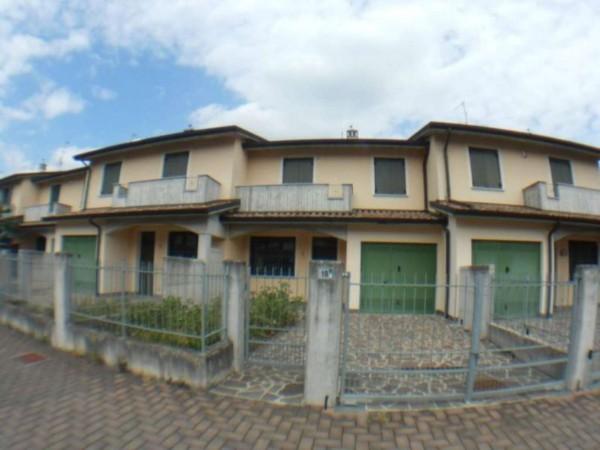 Villetta a schiera in vendita a Cremosano, Residenziale, Con giardino, 174 mq - Foto 5