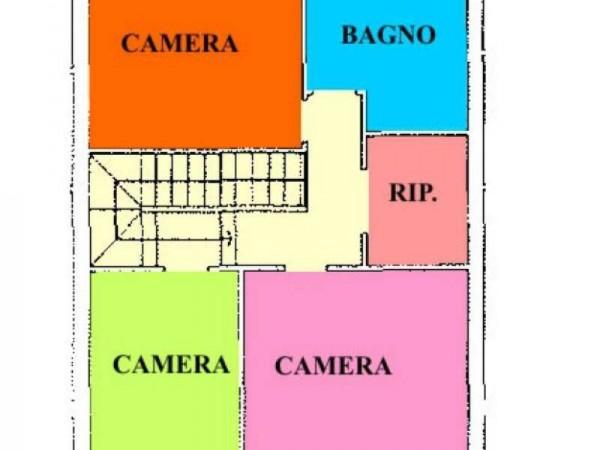 Villetta a schiera in vendita a Cremosano, Residenziale, Con giardino, 174 mq - Foto 2