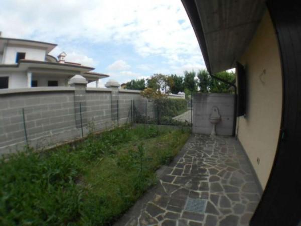 Villetta a schiera in vendita a Cremosano, Residenziale, Con giardino, 174 mq - Foto 22