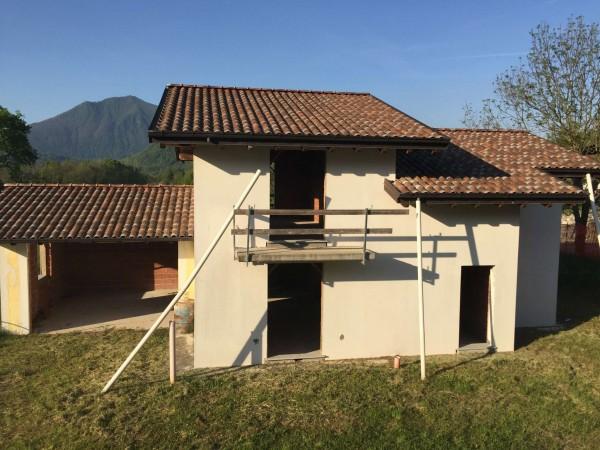 Villa in vendita a Leggiuno, Bosco, Con giardino, 200 mq