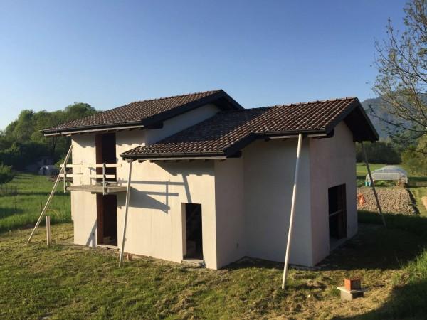 Villa in vendita a Leggiuno, Bosco, Con giardino, 200 mq - Foto 24