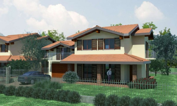 Villa in vendita a Caravate, Con giardino, 180 mq - Foto 7