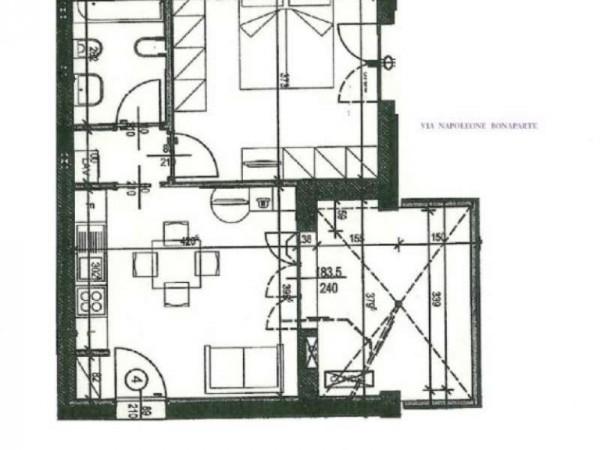 Appartamento in vendita a Firenze, Coverciano, Con giardino, 53 mq - Foto 2