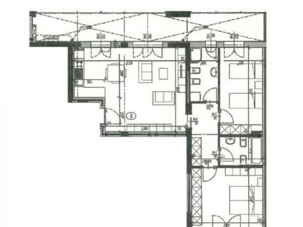 Appartamento in vendita a Firenze, Coverciano, Con giardino, 105 mq - Foto 2