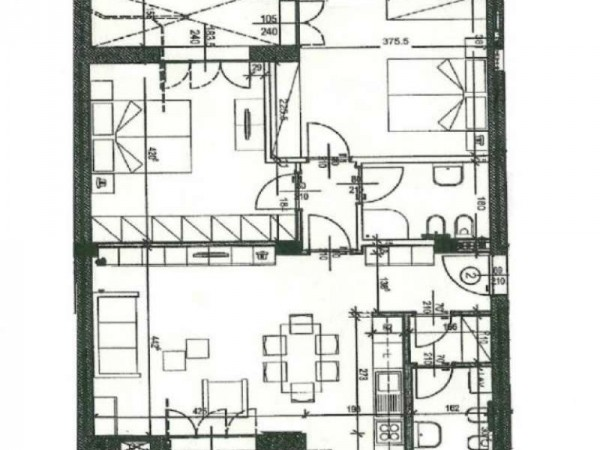 Appartamento in vendita a Firenze, Coverciano, Con giardino, 99 mq - Foto 6