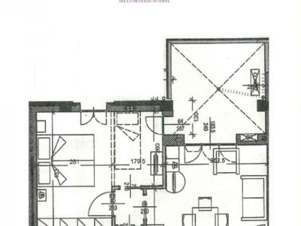 Appartamento in vendita a Firenze, Coverciano, Con giardino, 54 mq - Foto 4