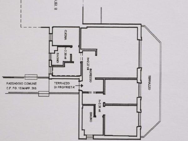 Appartamento in vendita a Zoagli, Con giardino, 81 mq - Foto 2