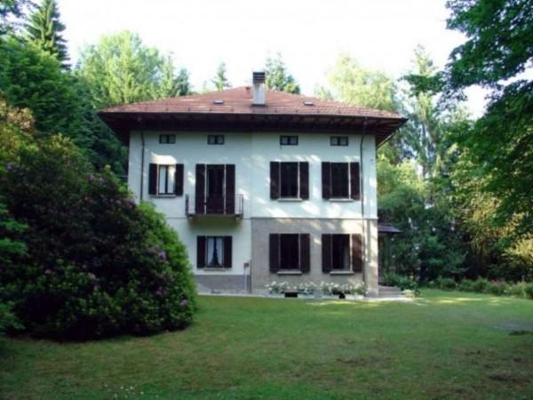 Villa in vendita a Stresa, Albergo Alpino Fiorente, Con giardino, 530 mq - Foto 1