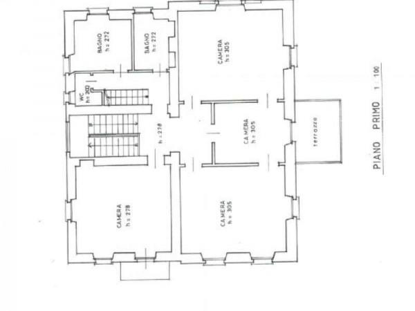 Villa in vendita a Stresa, Albergo Alpino Fiorente, Con giardino, 530 mq - Foto 7