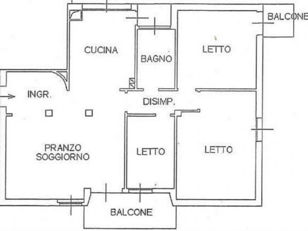 Appartamento in vendita a Cesena, San Pietro, 120 mq - Foto 2