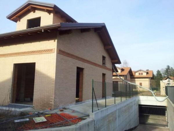 Villa in vendita a Buguggiate, Con giardino, 305 mq - Foto 42