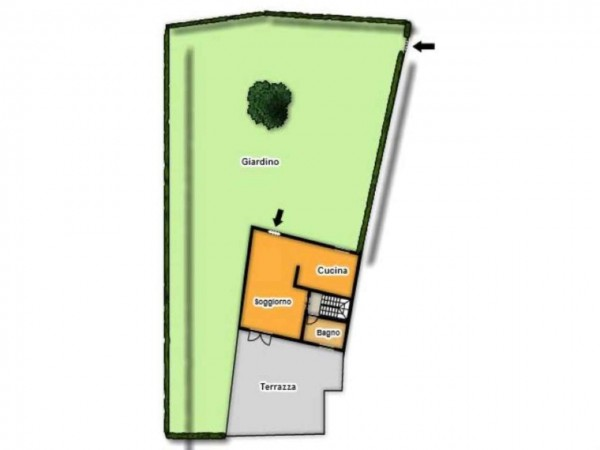 Casa indipendente in vendita a Trenzano, Con giardino, 180 mq - Foto 4