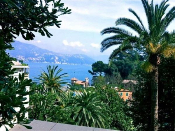 Villa in vendita a Santa Margherita Ligure, Paraggi, Con giardino, 177 mq