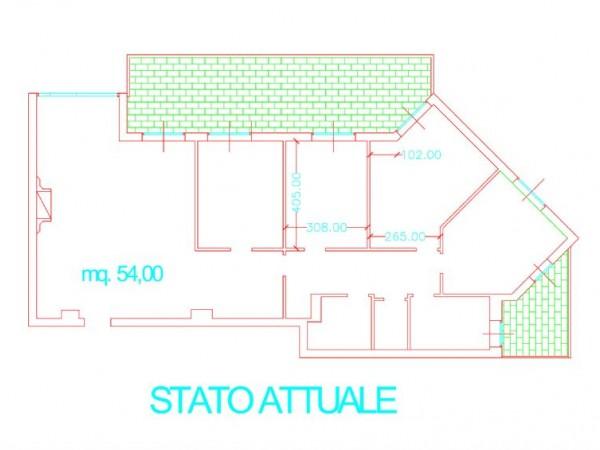 Appartamento in vendita a Milano, San Siro / Ippodromo - Lotto, Novara, San Siro, 180 mq - Foto 2