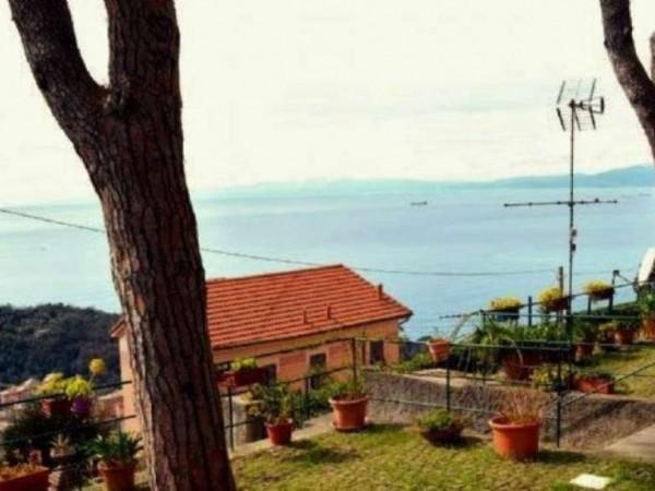 Appartamento in vendita a Camogli, Ruta Di Camogli, Arredato, con giardino, 40 mq - Foto 4