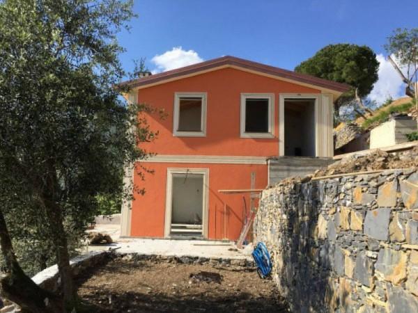 Villa in vendita a Rapallo, Costasecca, Con giardino, 127 mq