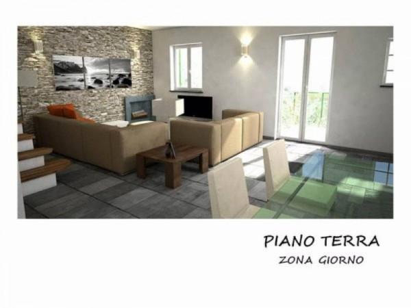 Villa in vendita a Rapallo, Costasecca, Con giardino, 127 mq - Foto 6