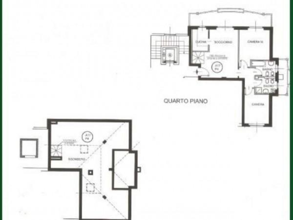 Appartamento in vendita a Busto Garolfo, Centrale, 130 mq - Foto 3