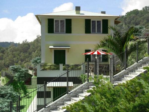 Casa indipendente in vendita a Rapallo, Ronco Costaguta, Con giardino, 78 mq - Foto 12