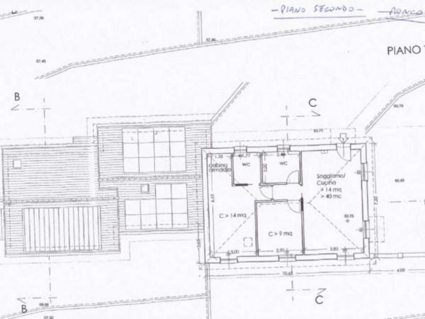 Casa indipendente in vendita a Rapallo, Ronco Costaguta, Con giardino, 78 mq - Foto 3