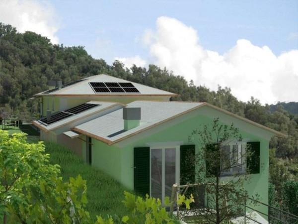 Casa indipendente in vendita a Rapallo, Ronco Costaguta, Con giardino, 78 mq - Foto 13