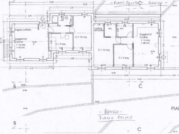 Appartamento in vendita a Rapallo, Ronco Costaguta, Con giardino, 156 mq - Foto 7