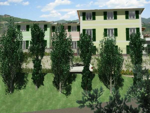 Appartamento in vendita a Rapallo, Ronco Costaguta, Con giardino, 156 mq - Foto 12