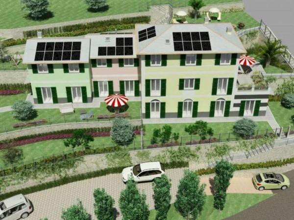 Appartamento in vendita a Rapallo, Ronco Costaguta, Con giardino, 156 mq - Foto 8