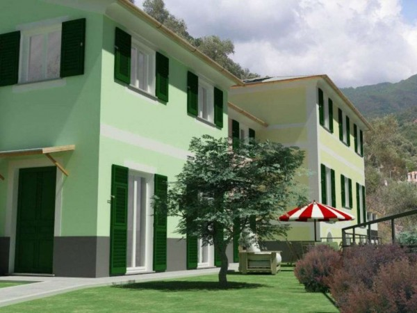 Appartamento in vendita a Rapallo, Ronco Costaguta, Con giardino, 156 mq - Foto 10