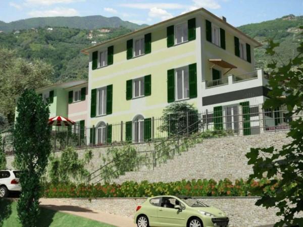 Appartamento in vendita a Rapallo, Ronco Costaguta, Con giardino, 156 mq - Foto 11