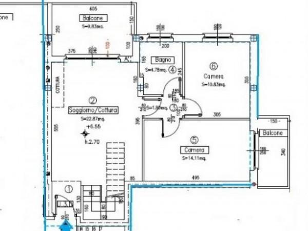 Appartamento in vendita a Canegrate, Gigante, 130 mq - Foto 2