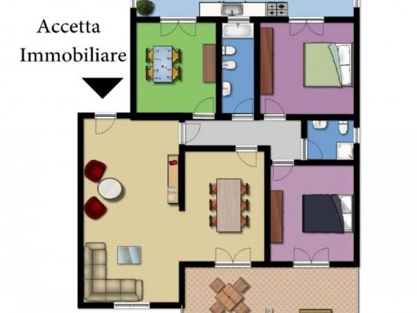 Appartamento in vendita a Taranto, Residenziale, Con giardino, 128 mq - Foto 3