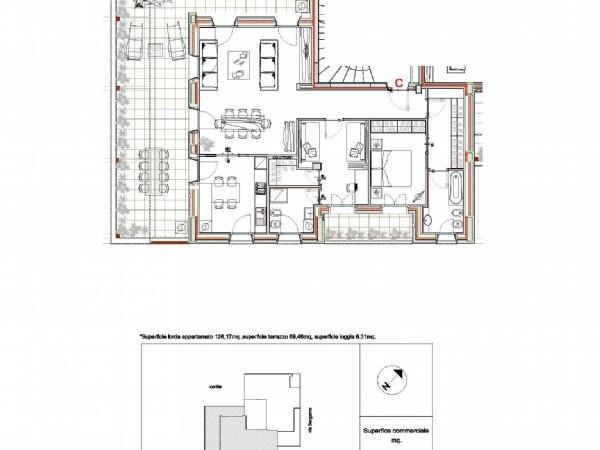 Appartamento in vendita a Milano, Porta Romana - V Giornate, Xxii Marzo, Porta Romana, Viale Corsica, 155 mq - Foto 2
