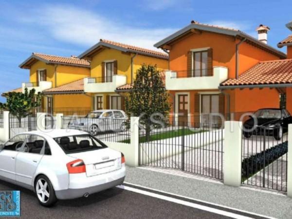 Villa in vendita a Cassano d'Adda, Groppello, Con giardino, 160 mq - Foto 12