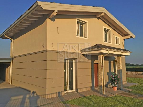 Villa in vendita a Cassano d'Adda, Groppello, Con giardino, 160 mq - Foto 4