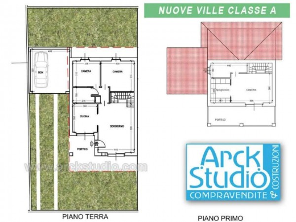 Villa in vendita a Cassano d'Adda, Groppello, Con giardino, 160 mq - Foto 8