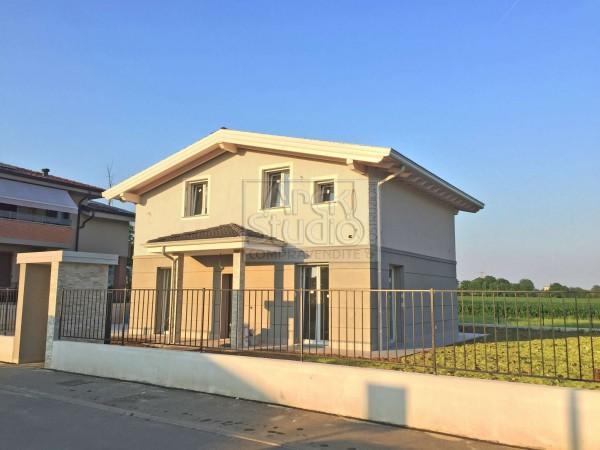 Villa in vendita a Cassano d'Adda, Groppello, Con giardino, 160 mq - Foto 3