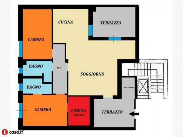 Appartamento in vendita a Cesate, Stazione, 110 mq - Foto 5