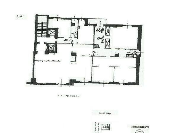 Appartamento in vendita a Milano, Piazza Cavour - Montenapoleone - Centro Storico, 242 mq - Foto 2