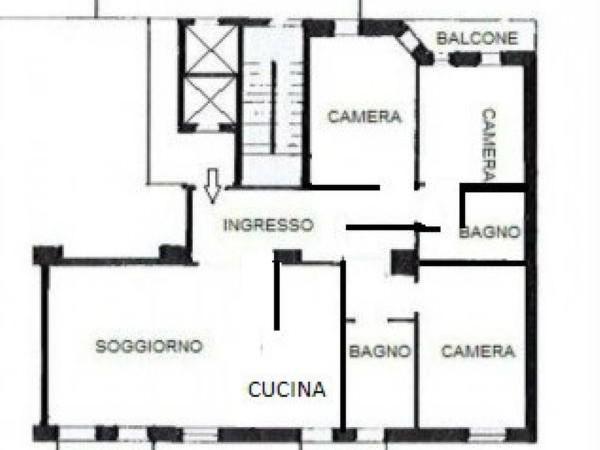 Appartamento in vendita a Milano, Plebisciti - Compagnoni - Citta Studi, Lambrate, 150 mq - Foto 3