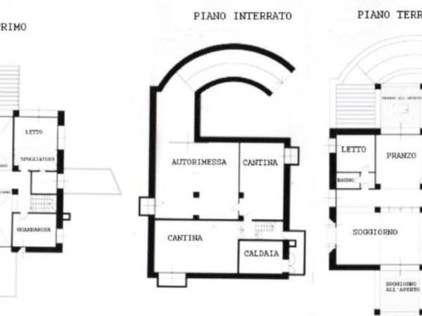 Villa in vendita a Bernareggio, Con giardino, 520 mq - Foto 10