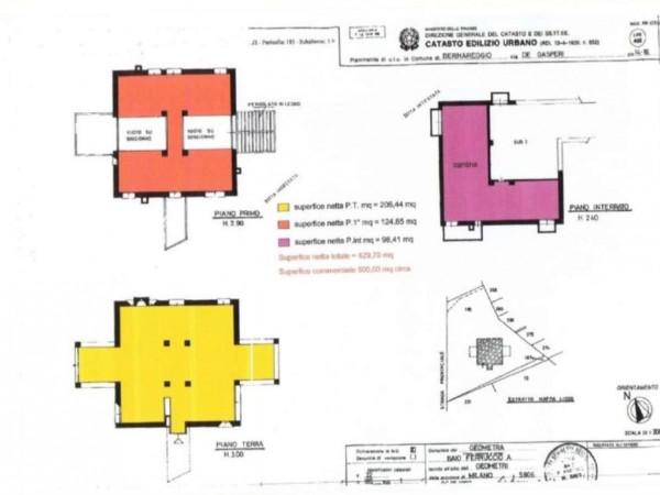 Villa in vendita a Bernareggio, Con giardino, 520 mq - Foto 12