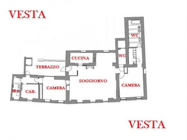 Appartamento in vendita a Milano, 155 mq - Foto 2