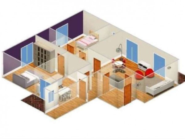 Appartamento in vendita a Caserta, Stazione, Università, 120 mq - Foto 6