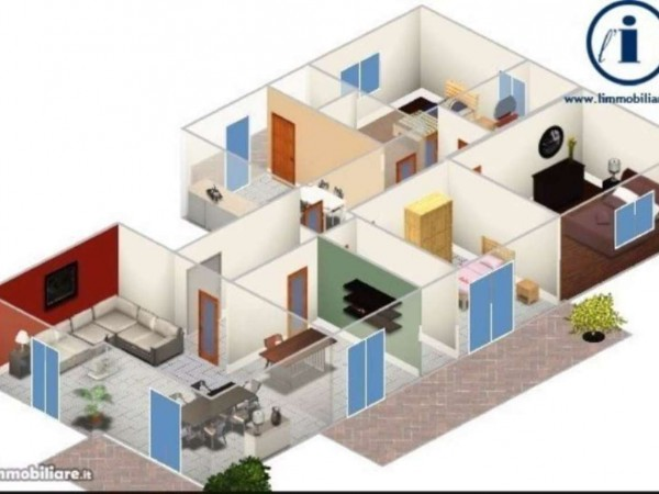Appartamento in vendita a Caserta, Lincoln, 160 mq - Foto 5