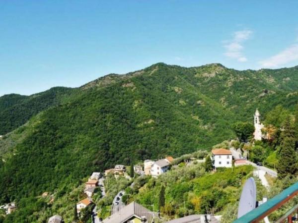 Villetta a schiera in vendita a Avegno, Salto, Con giardino, 175 mq - Foto 2