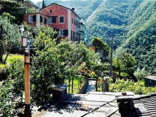 Villetta a schiera in vendita a Avegno, Salto, Con giardino, 175 mq - Foto 23