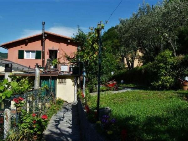 Villetta a schiera in vendita a Avegno, Salto, Con giardino, 175 mq