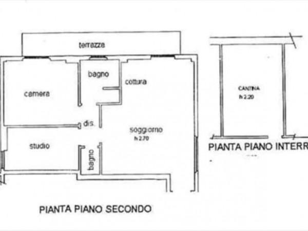 Appartamento in vendita a Monteroni d'Arbia, 80 mq - Foto 2