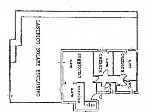 Appartamento in vendita a Siena, Con giardino, 94 mq - Foto 5